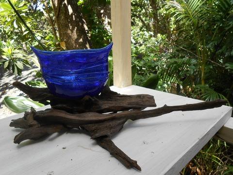 流木花器3