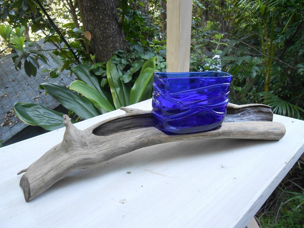 流木花器2